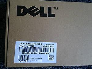 Dell 4G481 Black USB 104-Key Keyboard KB212-B SK-8120