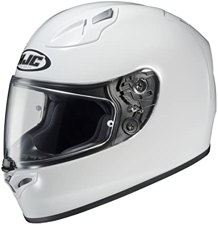 Hjc Fg 17 >> Hjc Fg 17 Full Face Motorcycle Helmet White Medium