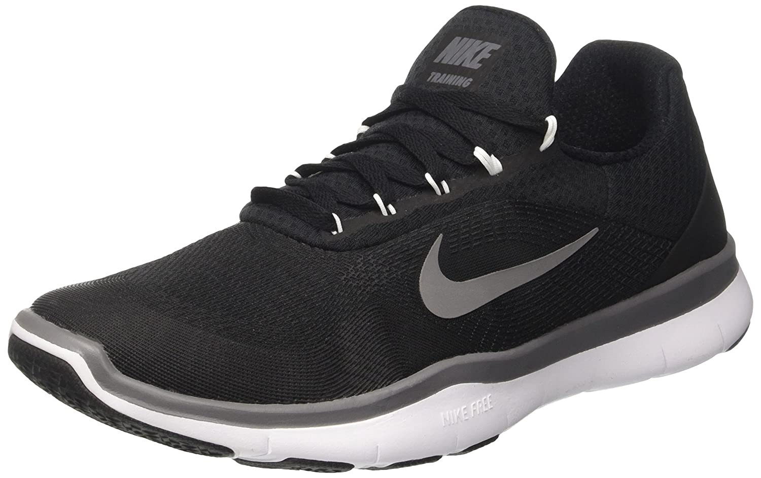 daaf939223bd Nike Mens Free Trainer V7 Training Shoes Black White Dark Grey 898053-003  Size 10. 5  Buy Online at Low Prices in India - Amazon.in
