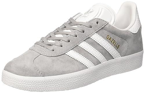adidas Gazelle W, Zapatillas de Deporte para Mujer, Gris ((Grimed/Ftwbla/Dormet), 44 EU: Amazon.es: Zapatos y complementos