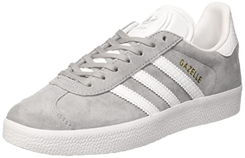 zapatos adidas mujer gazelle gris