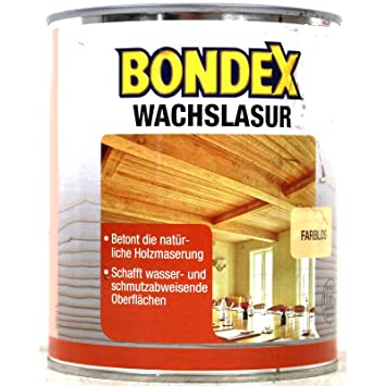 Bondex Wachslasur Weiss 0 25 L 352674 Amazon De Baumarkt