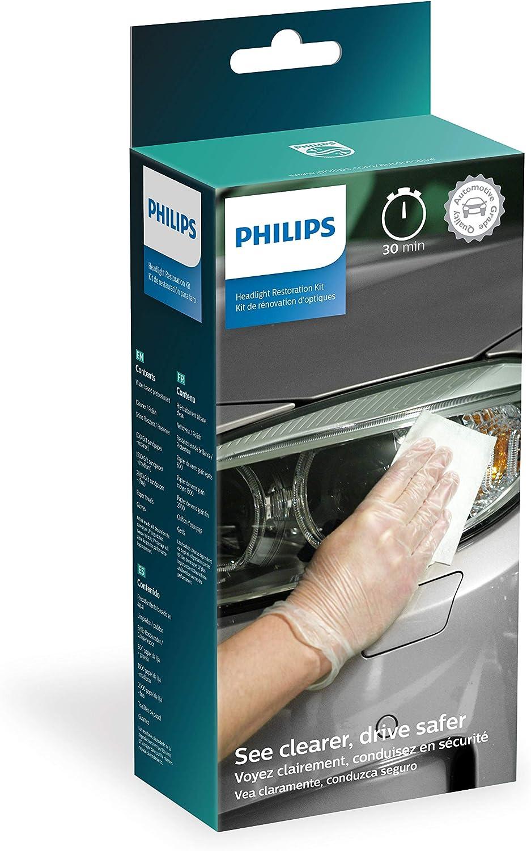 Philips Headlight Restoration Kit with UV Protection