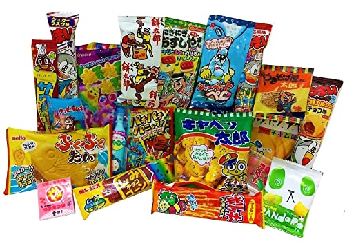 20 sweets gift bag japanese candy and snacks