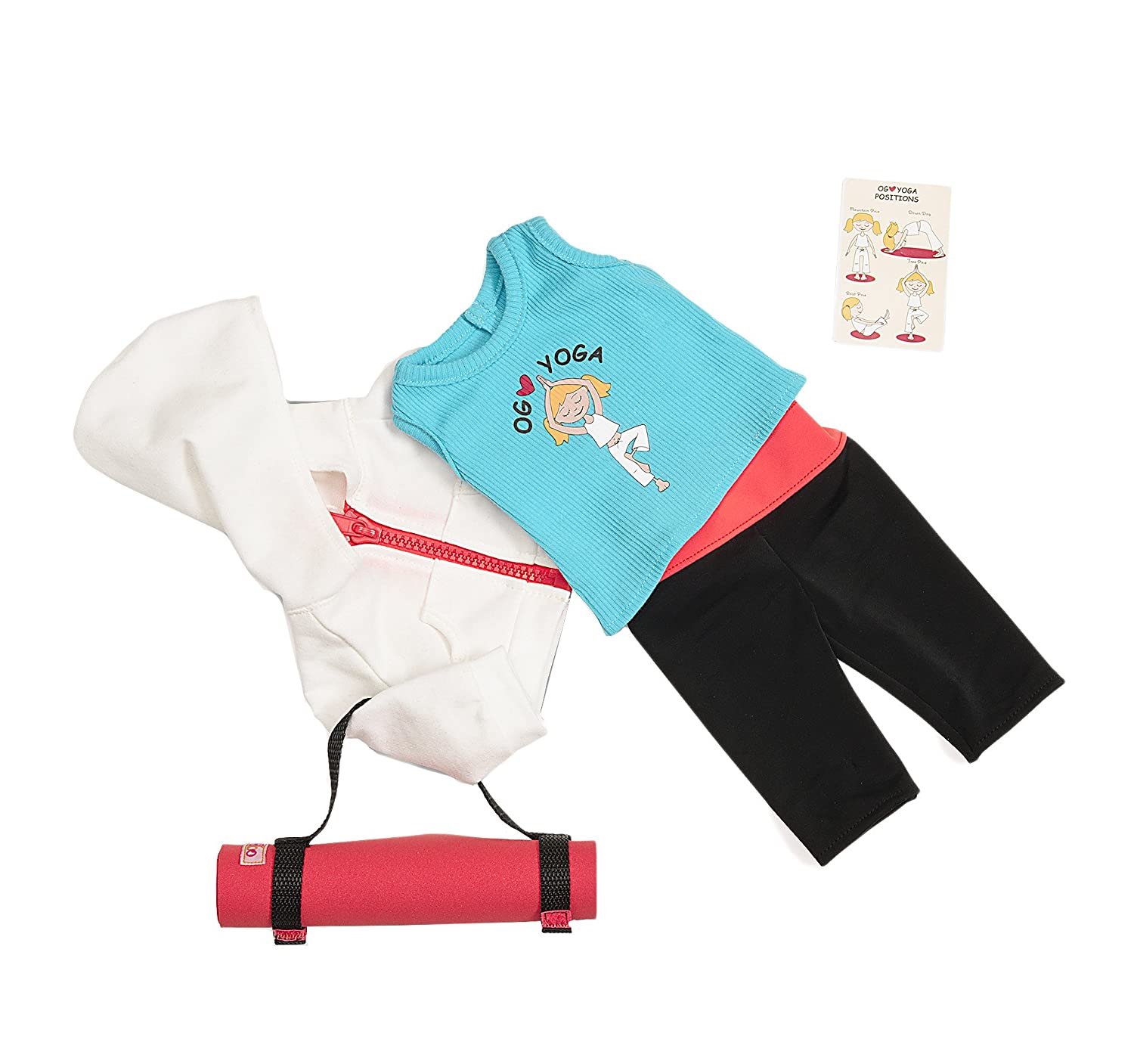"""Our Generation Ommm My Way to Yoga Outfit Compatible with 18/"""" Dolls SG/_B00FZ0UH4E/_US"""