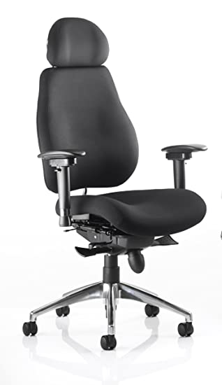 chiro chiropractor approved orthopaedic office chair black with