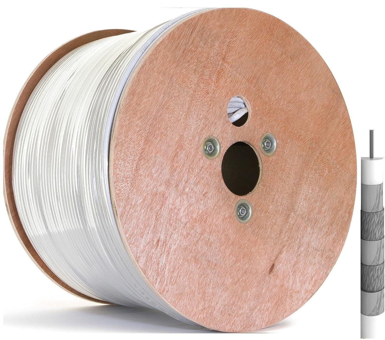 TRENDSKY® 135 dB 500 m cable SAT 5 capas de cobre - Acero ...