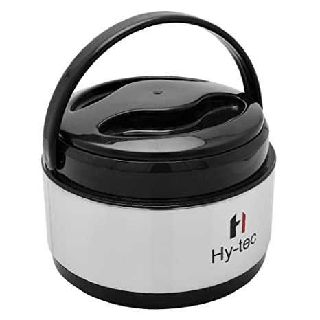 Hytec 600ML Stainless Steel Puff Insulated Casserole/Hot Case/Chapati Container/Hot Pot