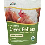 Manna Pro Layer Pellets for Chickens | Non-GMO & Organic High Protein Feed for Laying Hens