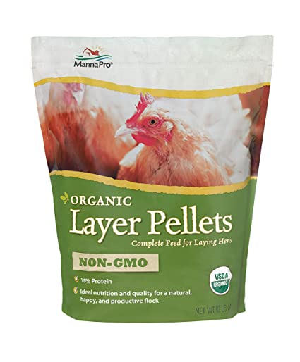 Amazon Manna Pro Organic Layer Pellets 10 Lb Pet Supplies