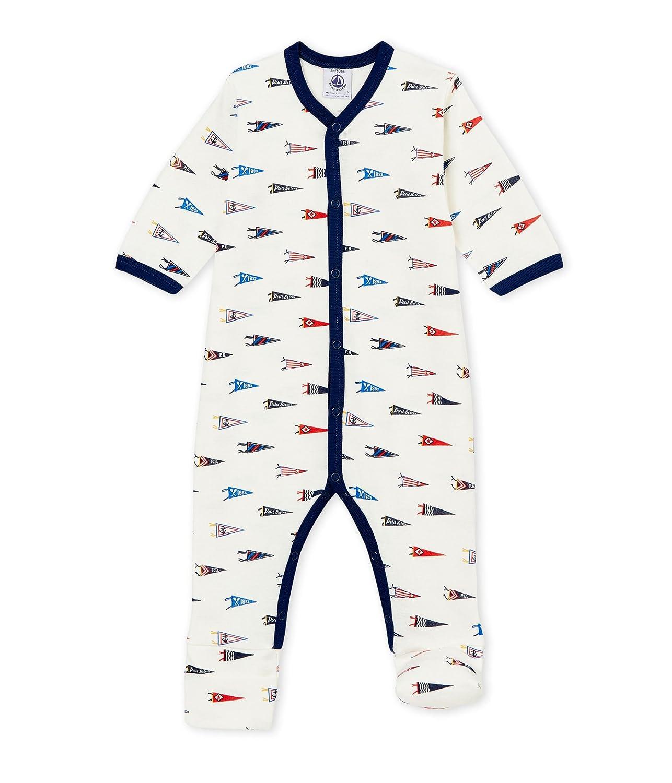 Petit Bateau Baby-Jungen Schlafstrampler 4452401