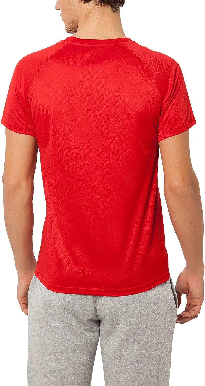etc. etc la course /à pieds t-shirt de fitness /à manches courtes le foot disponible dans plusie Ultrasport T-shirt technique pour homme Kugar thermoactif et s/échage rapide t-shirt de sport polyvalent id/éal pour le fitness
