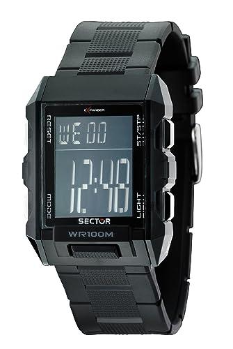 Sector R3251272025 - Reloj digital de cuarzo unisex, correa ...