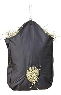 Yunt Sac de Foin Sac de fourre-Tout en Nylon de fourre-Tout Sac dalimentation Lent de Cheval avec Les Courroies r/églables de Main
