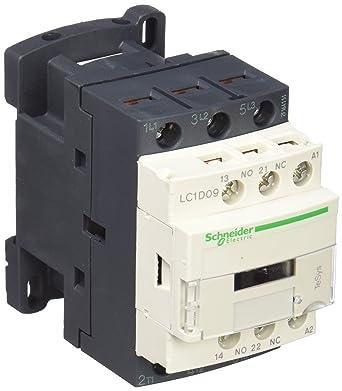 contacteur TeSys LC1D 9A 3P AC-3 440V bobine 24V schneider  LC1D09B7