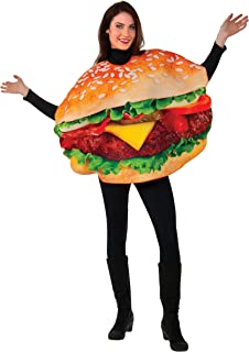 rubies mens burger costume