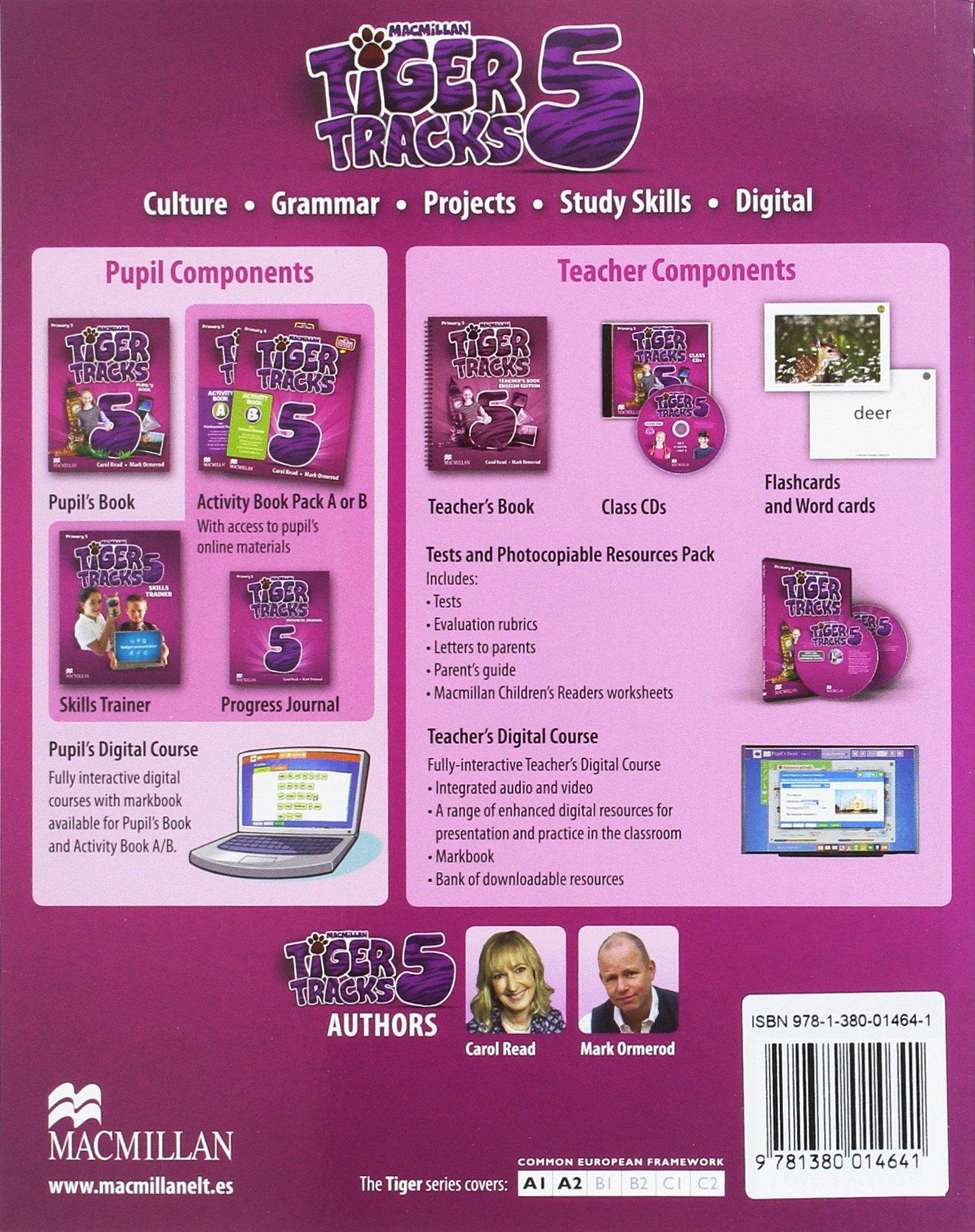 TIGER 5 Pb (ebook) Pk: Amazon.es: Carol Read, Mark. Ormerod ...
