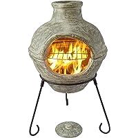 Gardeco ccc002-g Cozumel en 2parties pour barbecue cheminée d'extérieur–Vert