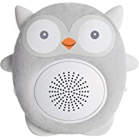 SoundBub, White Noise Machine and Bluetooth Speaker | Portable and Rechargeable On-the-Go Infant Shusher & Baby Sleep Aid Sound Soother by WavHello – Ollie the Owl, Gray