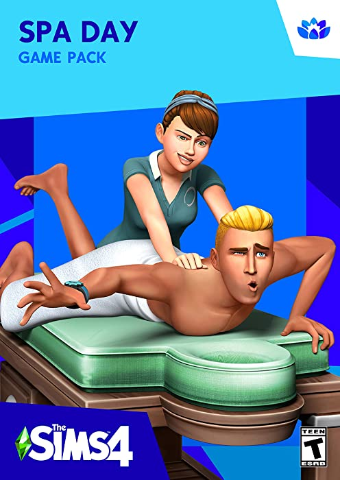 The Sims 4 - Spa Day [Online Game Code]