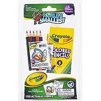 World's Smallest: Crayola Color Pencil & Coloring Book Set