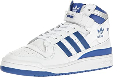 De Verdad clima Librería  Amazon.com: adidas Originals hombre Forum Mid refinado Fashion Sneaker,  Blanco, 12 D(M) US: Shoes