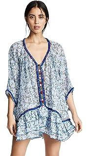 4866a5065fc0 Poupette St Barth Women s Donna Lace Trimmed Long Jumpsuit at Amazon ...