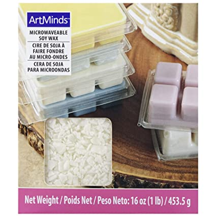 Soy Wax for Candle Making by ArtMinds, 1 lb.