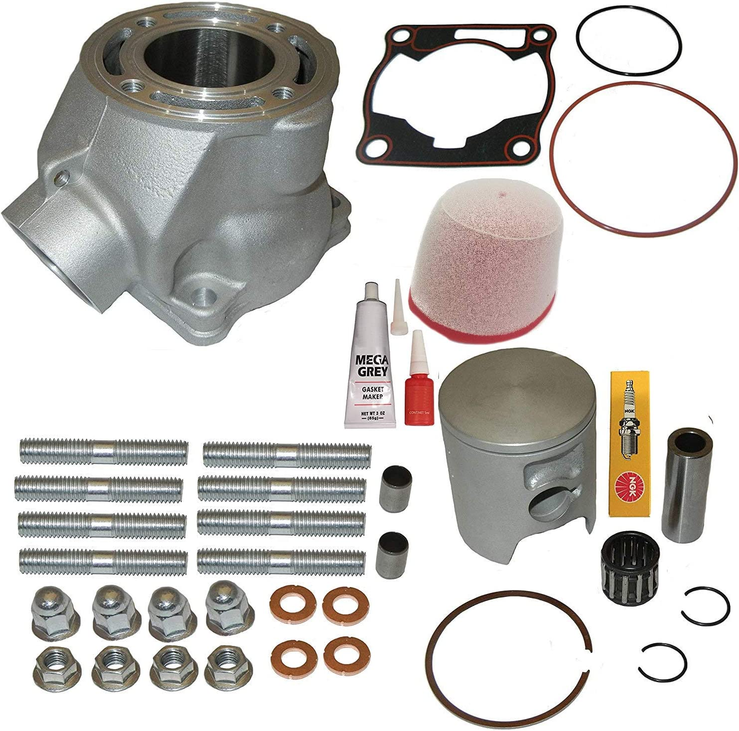 Standard Bore 47.50mm For 2005 Yamaha YZ85 Offroad Motorcycle Top End Kit