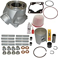 New 500 Big Bore Cylinder Kit For 2007-2018 Honda TRX 420 Top End Kit Gasket Air Oil Filter turns your 420 to a 500