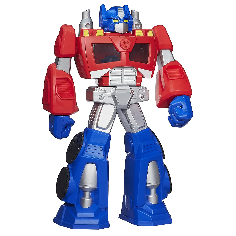 amazon transformers rescue bots epic optimus prime figure
