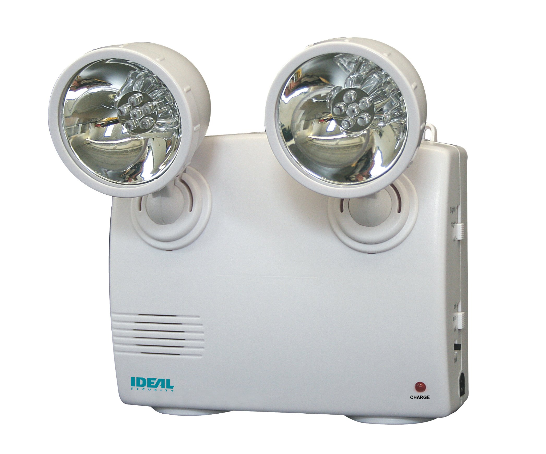 Ideal Security SK636 Lights-out Emergency Power Failure Light with 2 Adjustable Heads 60 Lumens LED, Up to 48 Hours