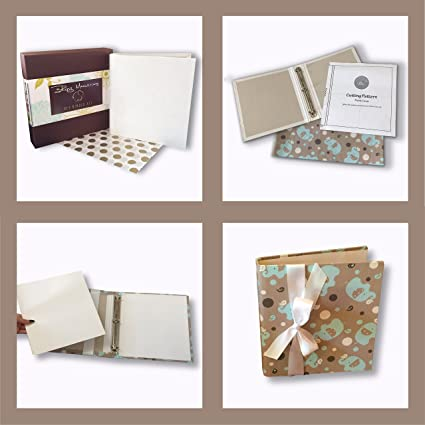 amazon com diy binder kit 1 binder make your own scrapbook or