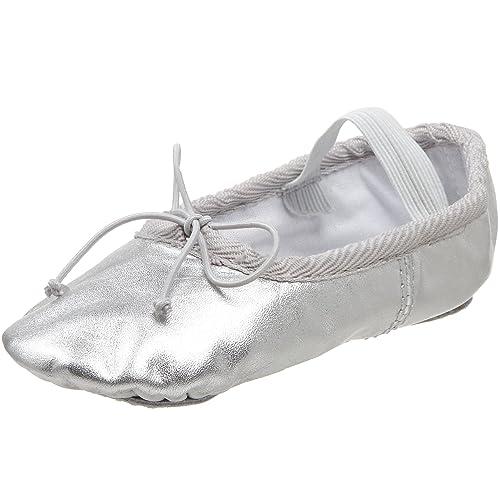 cd21de79f19e Dance Class B700 Silver Ballet Flat (Toddler Little Kid Big Kid)
