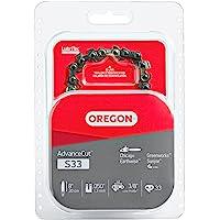 Oregon S33 AdvanceCut 8-Inch Chainsaw Chain Fits Chicago, Earthwise, Greenworks, Sun Joe, 8