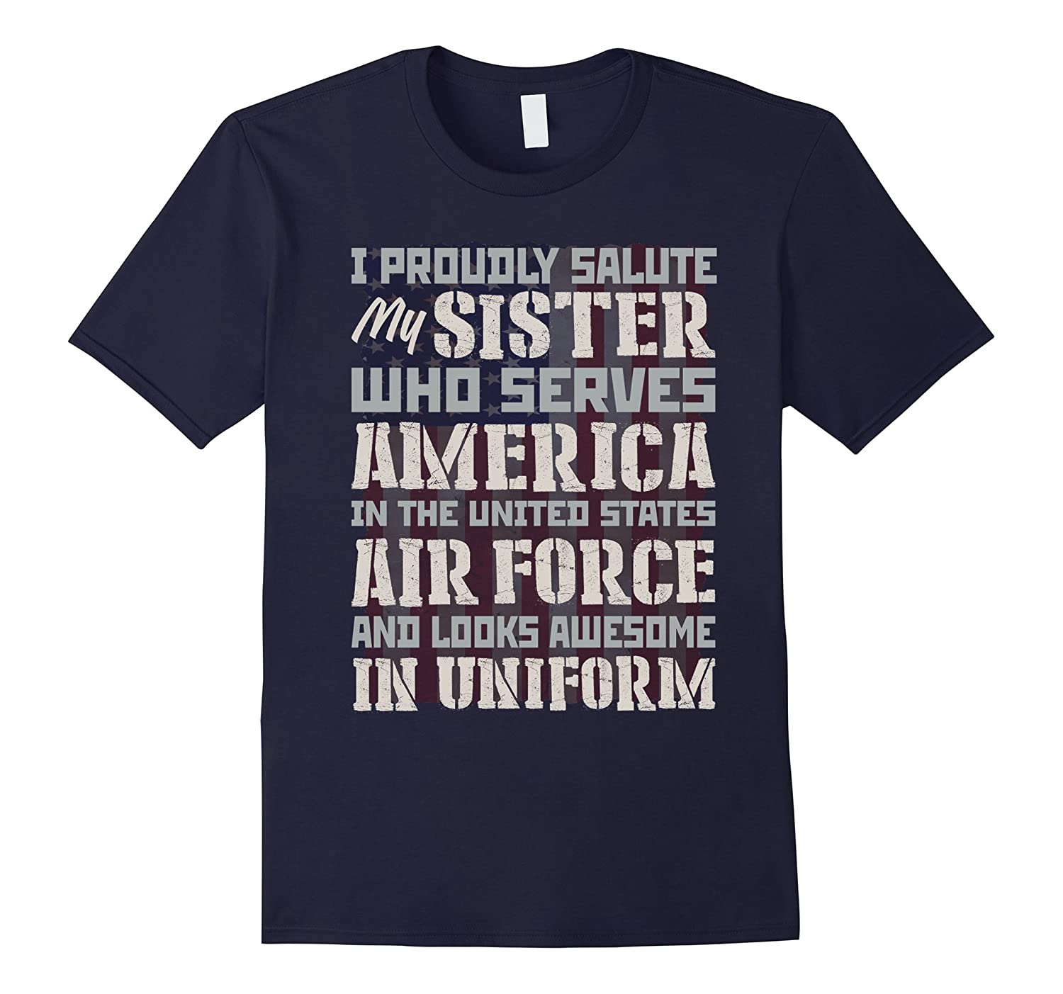 Air Force Sister Serves America and Looks Awesome in Uniform-CL