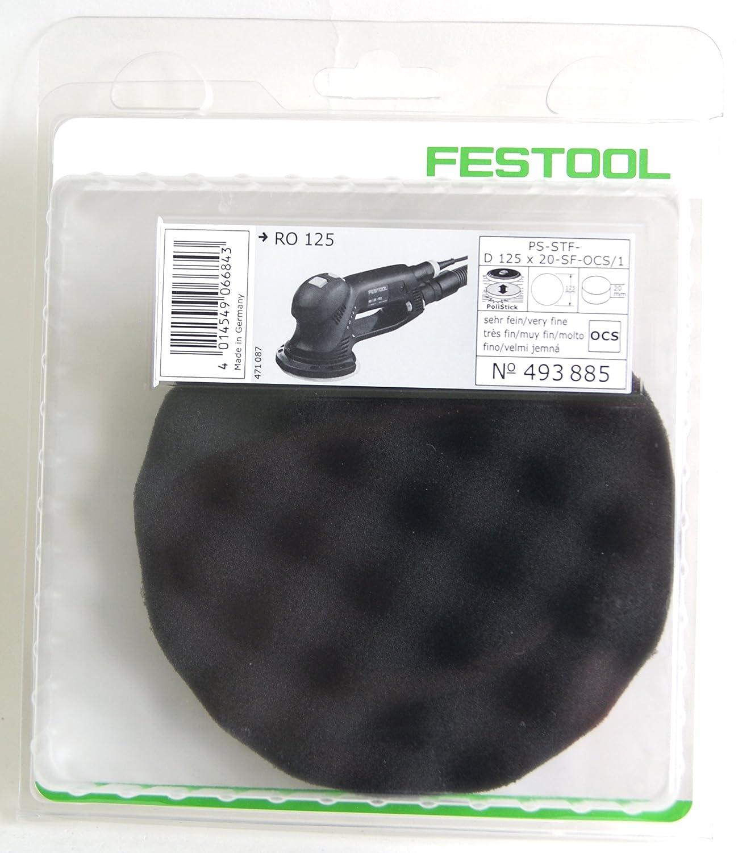 Festool Polierschwamm PS STF D150x30 BA//1 W sehr fein gewaffelt