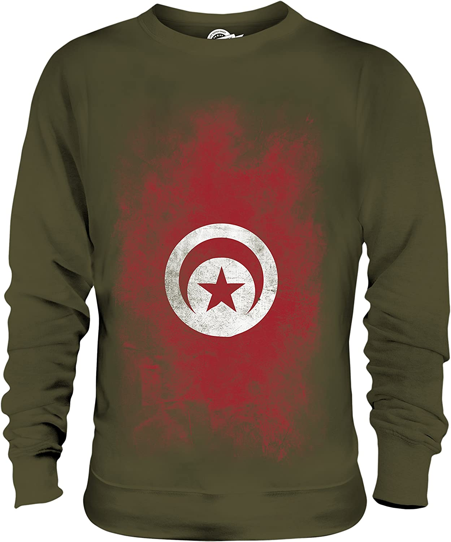 sweat shirt femme drapeau tunisie