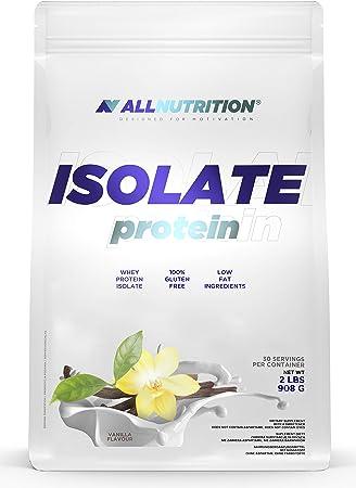 Isolate proteína, Vanilla – 908 g: Amazon.es: Salud y cuidado ...