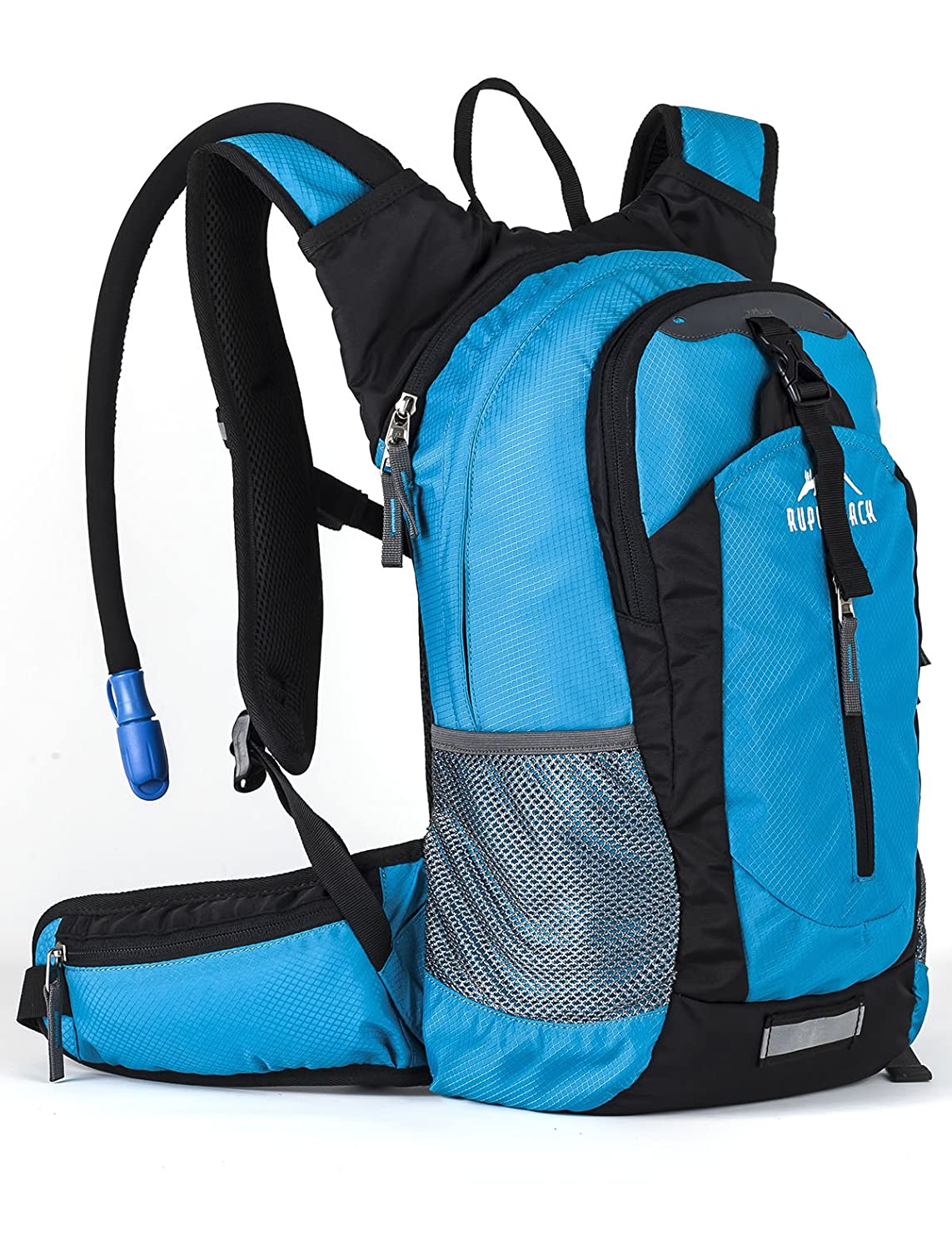 Insulated Hydration Backpack Pack with 2.5L BPA FREE Bladder - Keeps Liquid Cool up to 4 Hours, Lightweight Daypack Water Backpack For Hiking Running Cycling Camping, 18L RUPUMPACK HP-0720-18LHYPACK-UK