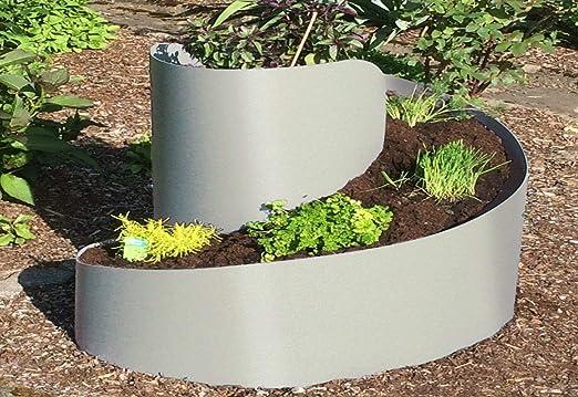 Pequeñas Hierbas espiral Bancal Caracol hierbas aromáticas. Color ...