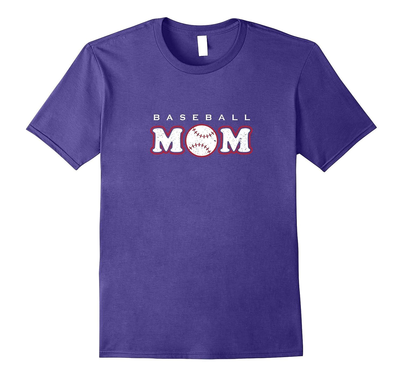 Baseball Mom Cute Mother T Shirt Family Gift