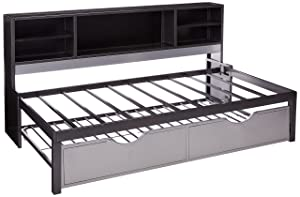ACME Furniture Bed, Black & Silver