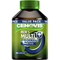 Cenovis Once Daily Men's Multi + Performance - 100 Capsules