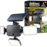 Bionic Floodlight 180 Degrees Swiveling Light by Bell+Howell Solar Lights Outdoor with Motion Sensor LED Solar Outdoor Lights