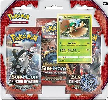 Pokemon USA, Inc. POK80251 Sun & Moon 4 Crimson Invasion Triple ...