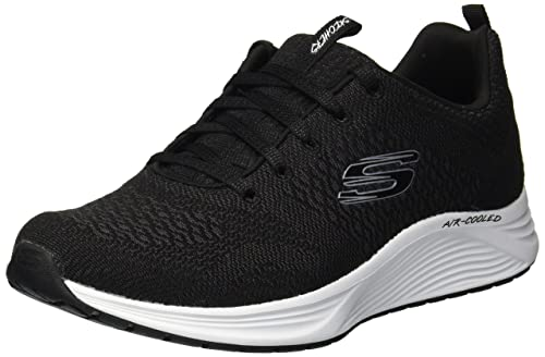 sports shoes ab976 9aa7a Skechers 13043 Blk Black Nero Scarpe Donna Air-Cooled Memory Foam