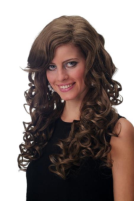 Wig Me Up – f2331 – 10/16 peluca Mujer peluca la Aparición rizos muy