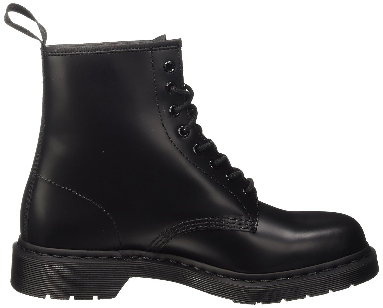 1460 Mono Black, Bottes Rangers mixte adulte, Noir (Black 14353001), 39 EUDr. Martens