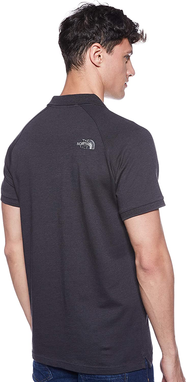 THE NORTH FACE Men's Raglan Jersey Raglan Sleeves Polo Tnf Black